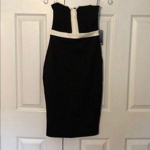 Brand new strapless  cocktail dress